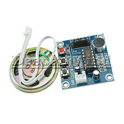 DC 3-5V ISD1820 Sound Recorder Voice Recording Module With Micophone Loudspeaker