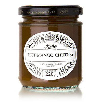 NEW Tiptree Hot Mango Chutney 220g