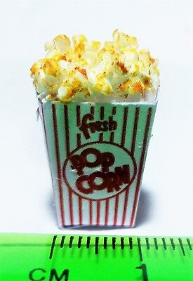 1:12 Scale Popcorn In A Packet Dolls House Miniature Foods
