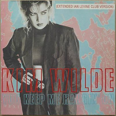 Kim Wilde - You Keep Me Hangin' On (Extended Ian Levine Club Version)  NL 89