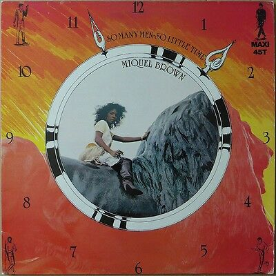Miquel Brown - So Many Men - So Little Time - Frankreich 1983 - VG++