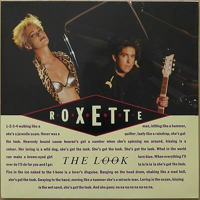 Roxette - The Look - Europa 1989 - NM