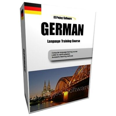 Gift Item - Learn To Speak German Language Training Course Pc Dvd New