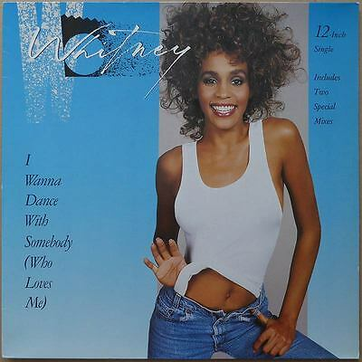 "12"" Whitney Houston - I Wanna Dance With Somebody (2) - Europa 1987 - NM"