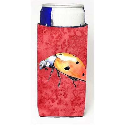 Lady Bug On Red Michelob Ultra bottle sleeves For Slim Cans 12 oz.
