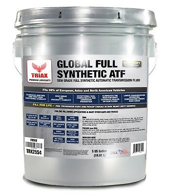TRIAX FULL SYNTHETIC ATF - Allison, Toyota, BMW, Audi, Ford