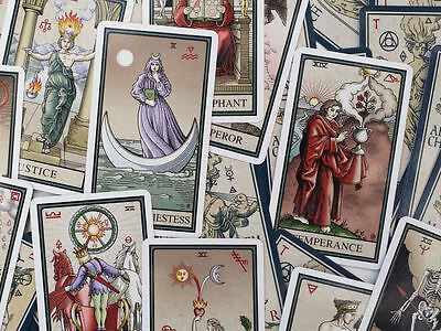Alchemical Tarot Renewed 4 Deck Self Published by Robert Place