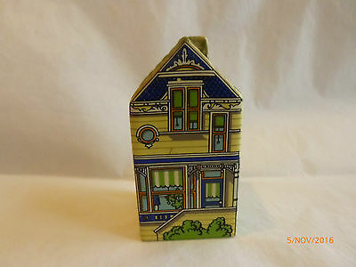 Wade Mini Mansion Painted Ladies Yellow House