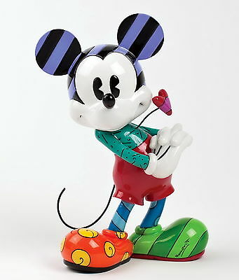 "DISNEY by Romero Britto Skulptur ""Mickey Mouse with Heart"" Enesco Figur 4030813"