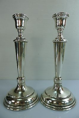 A Mid Century Stamped Silver 800 Candle Stick Holders
