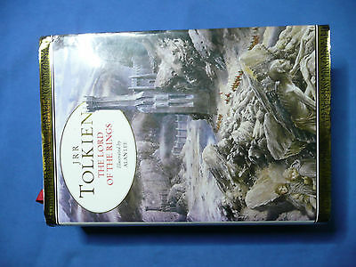Lord Of The Rings - Hardback Book - Illustrated By Alan Lee - J R R Tolkien