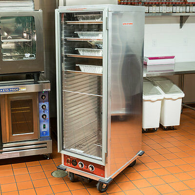 NEW Full Size Insulated NSF Heated Holding / Proofing Cabinet with Clear Door