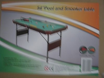4ft 6in Pool and Snooker Table