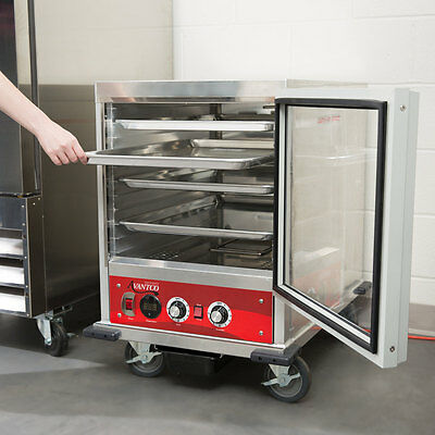 NEW Half Size Insulated NSF Heated Holding / Proofing Cabinet with Clear Door