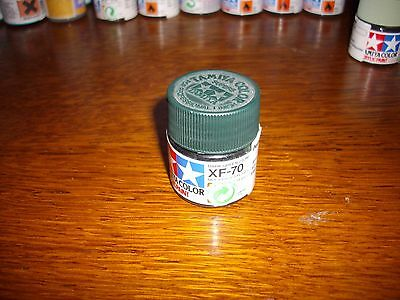 Peinture Tamiya  Color 10Ml Xf-70 Dark Green 2 Ijn
