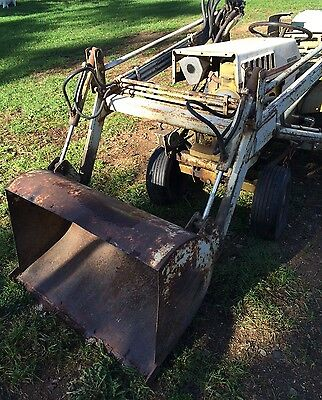 SEARS LOADER BUCKET ATTACHMENT for Sears ST/16 Garden Tractor