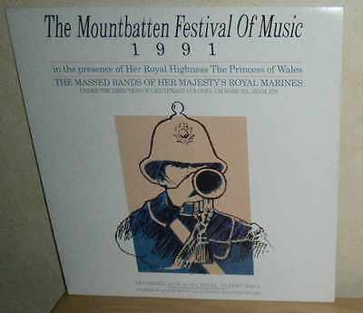 Massed Bands Royal Marines: The Mountbatten Festival of Music 1991. RMA 1014