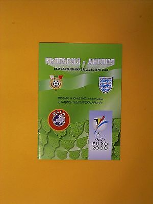 UEFA European Championship Qualifier - Bulgaria v England - 9th June 1999