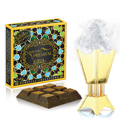 Bakhoor Nabeel *Premium* Home Incense* Fragrance* Burning Bakhur Nabil Bukhur40g