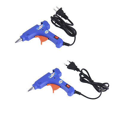 20W Hot Melt Glue Gun Stick Heater Trigger Electric Heat Repair Tool Craft EU US