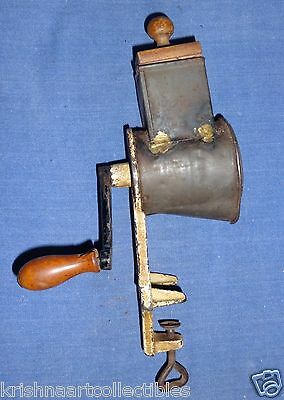 Vintage German Almond Nut Grinder / Cheese Grater Kitchen Made In Germany