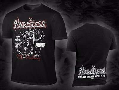 Merciless - the awakening (T-Shirt), Größe M, size Medium, Neuware, New