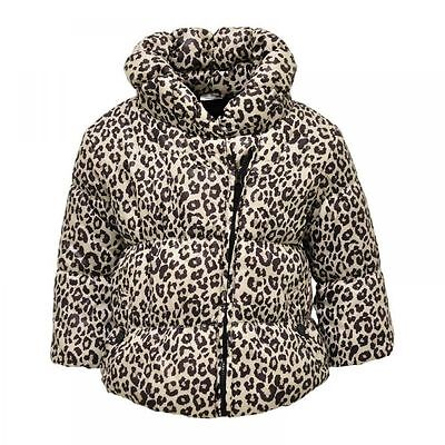 Chirstmas Kids Girls Winter Padded Warm Coat Jacket Fur Collar Sz 0 -18Months