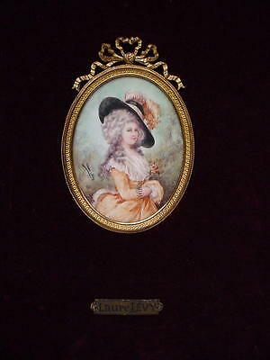 19thC. FRENCH PORTRAIT DUCHESS OF DEVONSHIRE by LAURE LÉVY