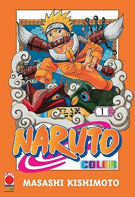 Naruto Color 1 - Planet Manga Panini - Nuovo