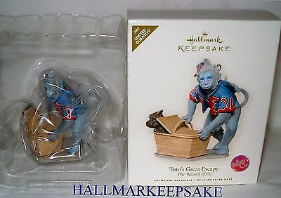 2007 Hallmark Keepsake Ornament The Wizard Of Oz Toto's Great Escape Limited Nib