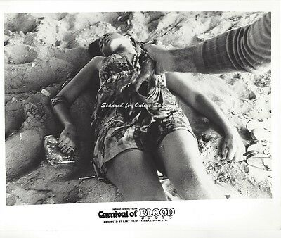 Carnival of Blood Judith Resnick 8x10 Photo