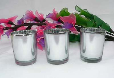 Silver Candle Wedding Event Tealight votive holder table decoration BUY QTY RQD