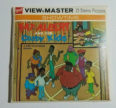 1972 View-Master FAT ALBERT and the COSBY KIDS - 3 Reel Set + Booklet