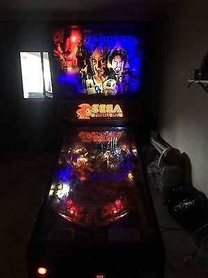 Pinball Machine Frankenstein By Sega With LEDS Added