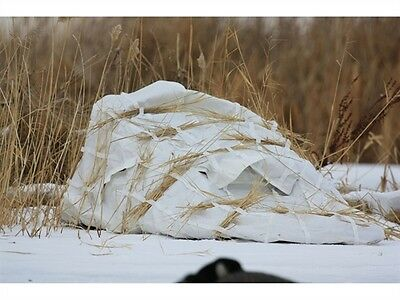 Avery Ghg Finisher Layout Ground Hunting Blind Snow Cover New!!!