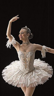 "Professional Collection ""Snowflakes"" Nutcracker Ballet Dance Costume For Tutu S"