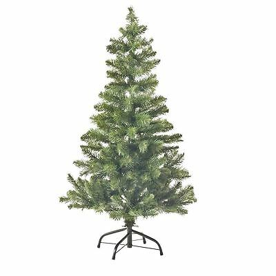 4FT Traditional Christmas Tree Imperial 230 Tips Artificial Tree Metal Stand