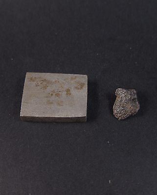 2x superb Gibeon meteorites, one etched