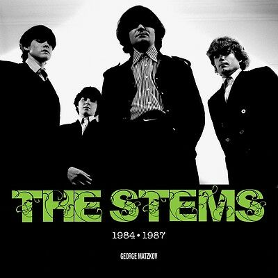 THE STEMS ~ 1984-1987 by George Matzkov (Coffee Table Photo Book) seconds + CD