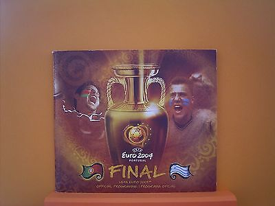 Portugal Euro 2004 Final Official Tournament Programme And Fans booklet.