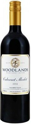 2014 Woodlands Cabernet Merlot Margaret Rivers WA 750mls Red Wine 13.5%  6bottle