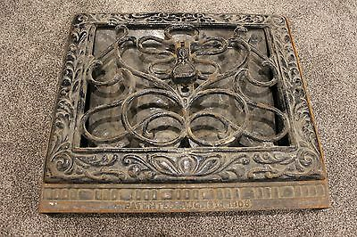 Antique Vintage Victorian Heat Grate Register Vent Covers #1