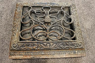 Antique Vintage Victorian Heat Grate Register Vent Covers #2