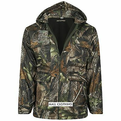 New Mens REALTREE Camouflage Waterproof Hunting Jacket/Coat - Shooting - Fishing