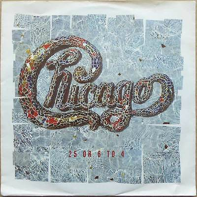 Chicago - 25 Or 6 To 4 - 1986 'er Version - NM