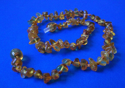 1 Baltic Amber Baby Necklaces Mixed Color 12.20 - 13.40 inches