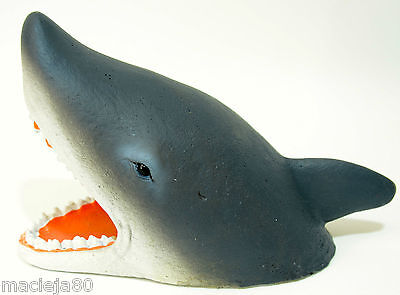 Shark Face Head, Fish Tank Ornament Aquarium, Fish Decoration Aqua Della