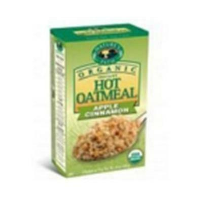 Natures Path 38428-3pack Natures Path Apple Cinnamon Oatmeal Pouch 3x8-1.75 oz.