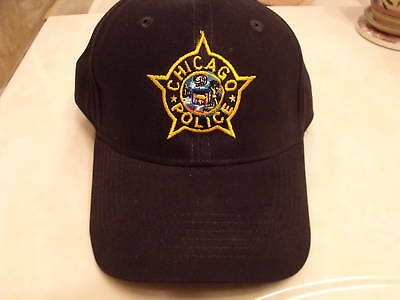 Chicago Police Embroidered Star Hat
