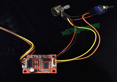 DC 12V Brushless Motor Speed Controller Drive Board For Hard Drive Water Pump